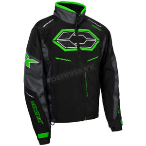 CASTLE X  Black / Charcoal / Green Blade G4 Jacket ~ 70-8949T XXXLARGE