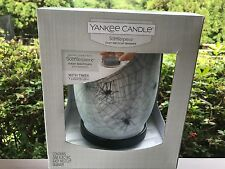 NIB Yankee Candle Spider Wed Light Up w/Timer Scenterpiece Meltcup Warmer