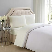 Charisma 310 Thread Count Classic Solid Cotton Sateen Standard Pillowcase Pair