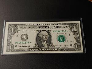 2013 B series $1 DOLLAR STAR NOTE B00641235* NEW YORK - **UNCIRCULATED**