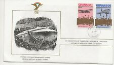 Ghana FDC - History of Aviation Stamp Collection - 1978  (3162) (X)