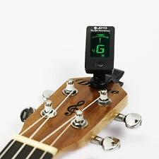 Vogue LCD Clip-On Electronic Digital Guitar Chromatic Bass Violin Ukulele Tuner