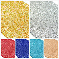 Glitter Sequin Rectangular Tablecloth Table Cloth Cover Banquet Wedding Decor