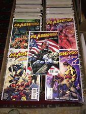 Flashpoint (2011 DC) #1C, 2A-5A 1-5 NM Near Mint DC Comics Variant #1