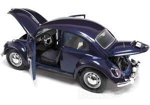1967 VW BEETLE BLUE NEW IN BOX