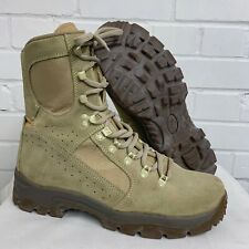 MEINDL DESERT HIGH LIABILITY FOX COMBAT BOOTS - Size: 9.5 uk , British Army