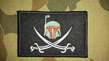 NEW STAR WARS BOBA FETT ANONYMOUS MORALE TACTICAL PATCH HOOK LOOP AUSSIE SELLER