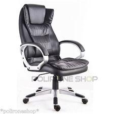 Poltrona sedia per ufficio presidenziale studio da x pc scrivania smart working