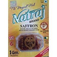 Natraj Brand Kesar Indian Saffron Ayurveda Herbal Spice