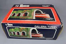 Y747 Lima Train Ho 2080 tunnel Galleria polystyrene 32*54*h 14 cm 1 voie