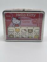 2003 Sanrio Hello Kitty Dominoes  Collectors Tin Lunch Box Case - w/28 Dominoes