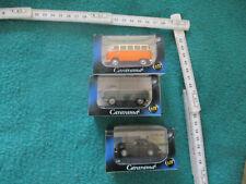 Modellbau Auto-Autos, LKW & Busse-3 x Cararama -1;72,VW T1-Porsche,Lot Sammlung
