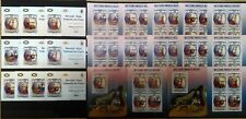 BU IMPERF,PERF 2013 BURUNDI FAMOUS PEOPLE GREAT COMPOSER MOZART 12BL+12KB MNH