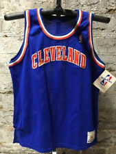 Rare Vintage Sand Knit NBA Cleveland Cavaliers Basketball Game Jersey Authentic