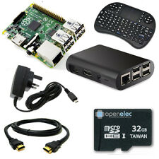 32GB KODI Media Centre with Raspberry Pi 3 1GB Quad Core WiFi Mini Keyboard