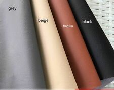 PVC Leather By the Metre, Faux Synthetic Leather Vinyl for UPHOLSTERY CRAFT