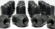 24 x Black Wheel Nuts 12x1.50 34mm 19 Hex. (D6B) Toyota Landcruiser