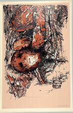 Nelson DOMINGUEZ - Litografia originale firmata - 1986