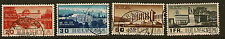 Svizzera:1938 internazionale del lavoro Ufficio Set SG 382-5 USATO