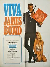 james bond 007 GOLDFINGER ! affiche cinema
