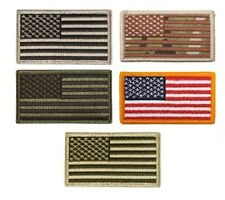 US Flag hook and loop back patch to fit our tactical hats army navy marines usaf