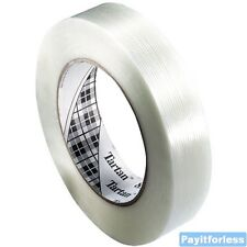 "2"" x 60 Yds 4 Mil 3M 8934 Packaging Packing Bundling Filament Tape 24 Rolls"