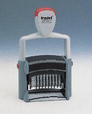 tampon numéroteur 10 bandes 48x 5 mm sans plaque métal line 55510 trodat