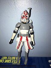Custom star wars the clone wars Clone Trooper Sergeant Hound W/ Removable Helmet