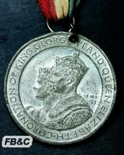 1937 King George VI Coronation Medal - With Ribbon