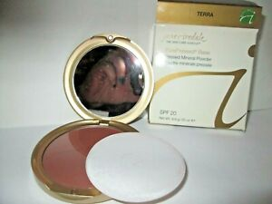 Jane Iredale Pure Pressed Base Mineral Powder Terra New Boxed