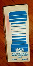 NSA NSA50C BACTERIOSTATIC WATER TREATMENT FILTER UNDER SINK UNIT NEW
