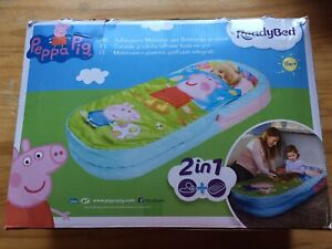 PEPPA PIG 2 IN 1 READY BED ALL IN 1 INFLATABLE MATTRESS & DUVET