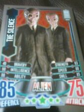 Dr who alien attax 50 th anniversary foil card number 22 the silence