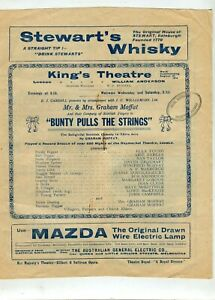 Theatre Programme 1914 King's Theatre Melbourne