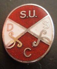 Sheffield United Supporters Club Football Brooch Pin Badge Maker Fattorini