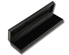 10 x Luxury Jet Leatherette Bracelet/Watch Boxes