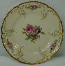 "ROSENTHAL china DIPLOMAT 5982 pattern BREAD PLATE 6-1/4"" Small Flower Center"