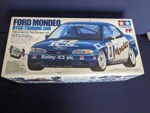 TAMIYA 1/10 RC FWD RACING CAR FORD MONDEO BTCC ITEM 58143 Original Box New NOS