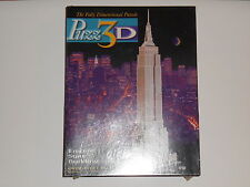 Vtg 1994 NEW SEALED PUZZ 3D PUZZLE EMPIRE STATE BUILDING 902 Pcs New York City