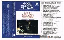 GOOD MORNING VIETNAM - SOUNDTRACK   *RARE CASSETTE TAPE*  1987, {RMC 53272}