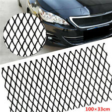 "40""x13"" Black Aluminium Racing Car Grille Mesh Vent Tuning Grill Rhombus Mesh"