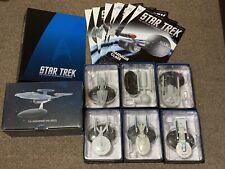 More details for eaglemoss star trek bundle: binder, nx01 refit,  enterprise, bonus issues