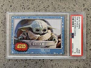 2019 Topps Star Wars Living Set #58 The Child  - PSA 9 MINT  - Baby Yoda - Grogu
