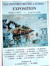 Affiche Guidel (Morbihan)-Yann Breiz