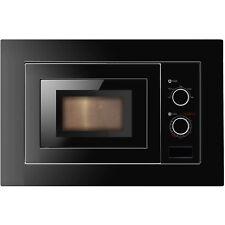 Cookology IM17LBK | Black Built-in Microwave & Integrated Frame Trim Kit