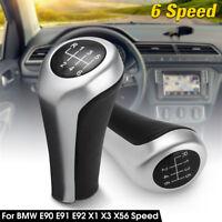 Car 6 Speed Genuine Gear Stick Shift Knob Lever For BMW E90 E91 E92 X1 X3 X5