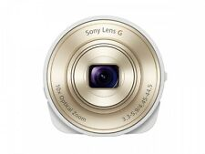 SONY DSC-QX10-W Smartphone Attachable Compact Lens Style Camera Fast Shipping