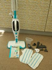 Beldray BEL0698 1300W 12-in-1 Steam Cleaner - Turquoise