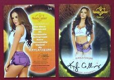 2013 Benchwarmer Thanksgiving 11-28-13 Kayla Collins Autograph Card # 34