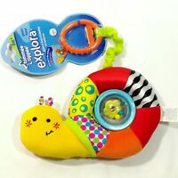 Baby Kid Child Tommee Tippee High Quality Attachable Spinning Rattle Snail Toy